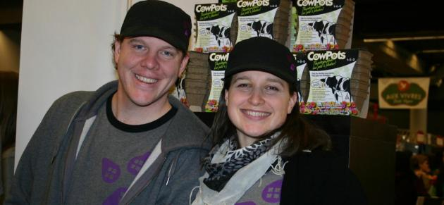 Shawn and Tereska - urban seedling owners
